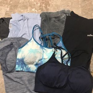 Bundle of size L workout clothes